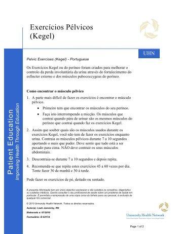 Kegel - University Health Network