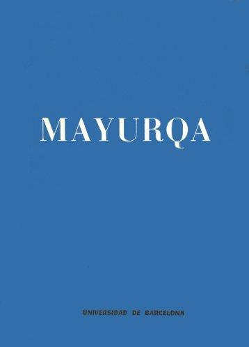 Mayurqa - Volum 11 - Biblioteca Digital de les Illes Balears