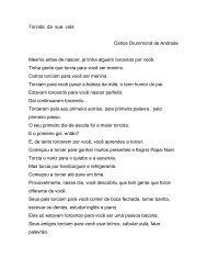 Torcida da sua vida Carlos Drummond de Andrade Mesmo antes de ...