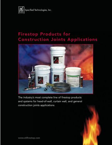 Firestop Products for Construction Joints Applications - RH Keleher ...