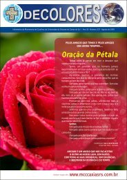 Decolores informativo 337 Agosto - MCC Caxias do Sul