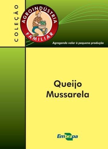 Queijo Mussarela - Infoteca-e - Embrapa