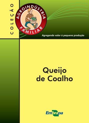 Queijo de Coalho - Ainfo - Embrapa