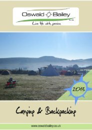 2013 Camping Catalogue - Oswald Bailey