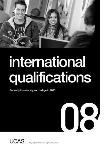 UCAS International Qualifications Guide - ASIBA - Association des ...