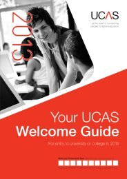 your UCAS welcome guide