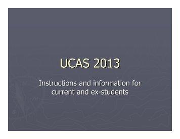 UCAS 2013.pdf - Hwa Chong Institution