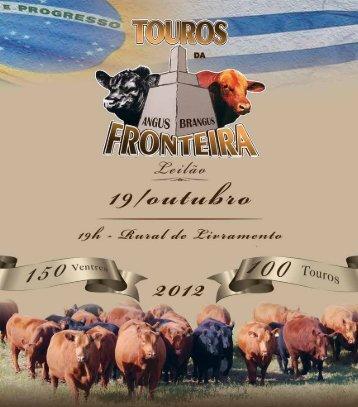 TOUROS DA FRONTEIRA - C2Rural