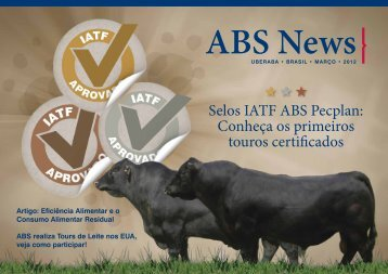 Selos IATF ABS Pecplan: Conheça os primeiros touros certificados