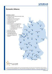 Domestic Alliance / Empfangspartner - Rhenus Logistics