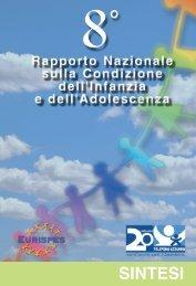 8° Rapporto Nazionale sulla condizione dell ... - Telefono Azzurro