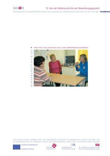 Thema 15 - Gehörlosenverband Berlin e.V.