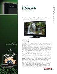 Caractéristiques - Toshiba Canada