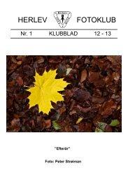 Klubblad Nr.1 12-13 - Herlev Fotoklub