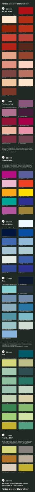 Farben aus der Manufaktur Farben aus der Manufaktur - Seite 2