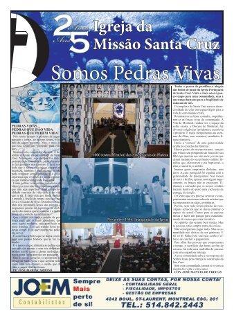 25 anos da Igreja Santa Cruz - Manuel Carvalho