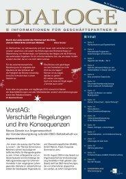 Dialoge | Nr. 21 - Deas.de