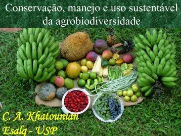 Conservação, manejo e uso sustentável da ... - Redesans