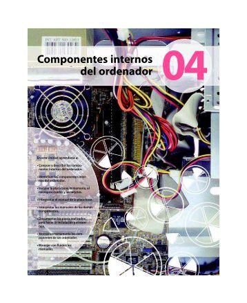 Componentes internos del ordenador - McGraw-Hill