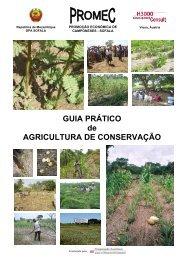 GUIA PRÁTICO de AGRICULTURA DE CONSERVAÇÃO
