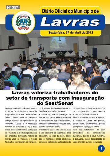 Edição_357_27_04_2012 - Prefeitura Municipal de Lavras