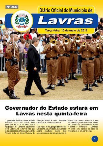 Edição_366_15_05_2012 - Prefeitura Municipal de Lavras