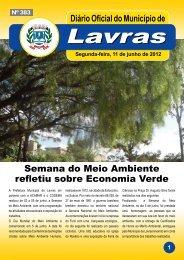 Edição nº 383_11-06-2012 - Prefeitura Municipal de Lavras