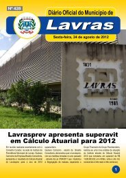 Edição_428_24_08_2012 - Prefeitura Municipal de Lavras