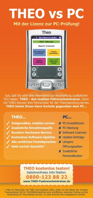 THEO vs PC - bei deedac