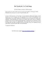 Ibn Taymiyyah : La Vraie Image - Noor Al Islam