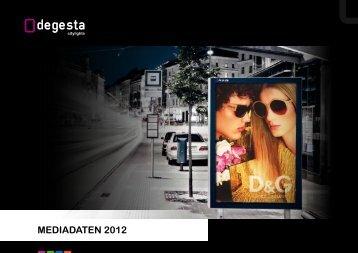 MEDIADATEN 2012 - DEGESTA citylights