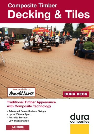 Download the Arnold Laver Dura Deck brochure PDF