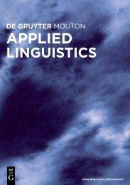 Download Catalog as pdf file - Walter de Gruyter