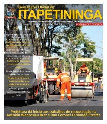 Prefeitura Municipal de Itapetininga - Governo do Estado de São ...