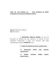 Denuncia Crime Ambiental - MPF/ES