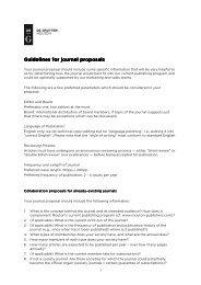Mouton journal proposal guidelines 2013 - Walter de Gruyter