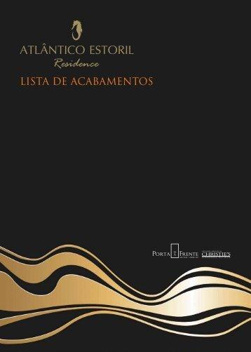 Faça o download da lista de acabamentos aqui - Atlântico Estoril ...