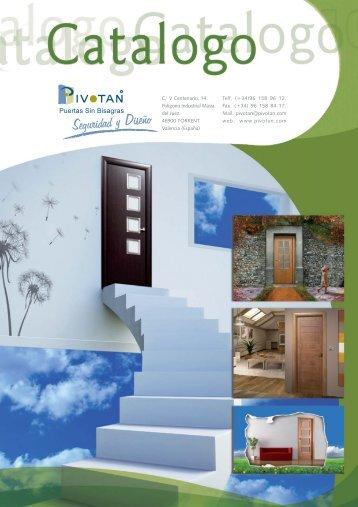 dossier catalogo ESP.FH11 - Puertas Pivotan