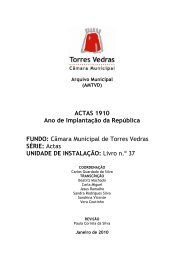 Download do ficheiro PDF - Arquivo Municipal de Torres Vedras