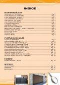 PUERTAS Y AUTOMATISMOS - Instaldoor - Page 3