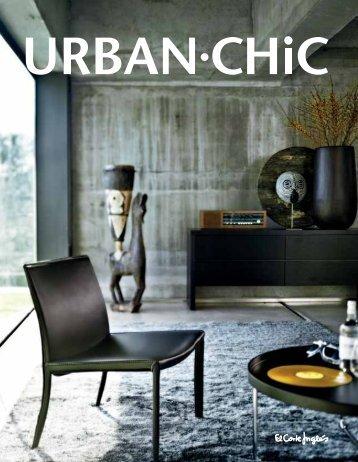 URBAN CHIC é a decoração para quem deseja - El Corte Inglés