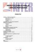 produtos químicos para as limpezas profissionais - Atlanlusi - Page 5