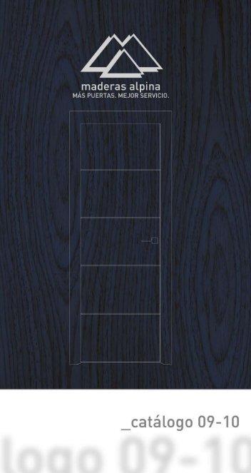 Catálogo de productos en pdf de maderas alpina puertas, parquet ...