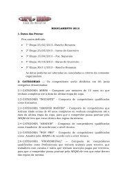 Regulamento 201 - Moutinho Eventos
