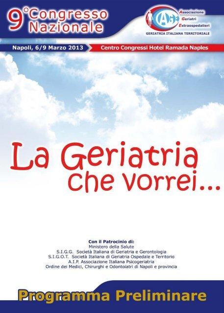 La Geriatria - Associazione Geriatri Extraospedalieri