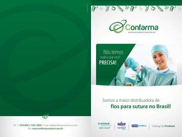 Catálogo Confarma - 20 x 30 cm Sem Preço