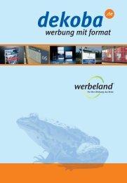 Präsentation - Dekoba Werbung GmbH