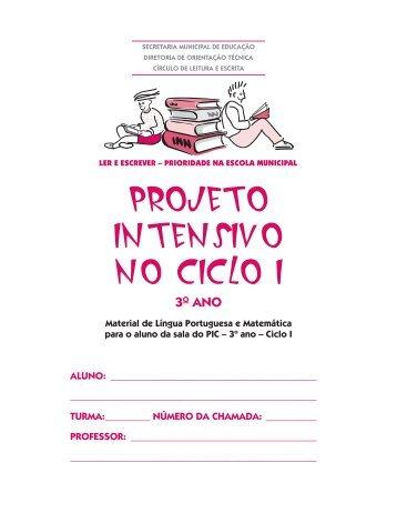 ler e escrever - Secretaria Municipal de Educação