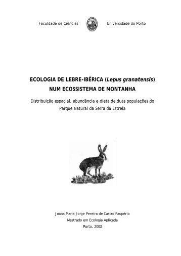 ECOLOGIA DE LEBRE-IBÉRICA (Lepus granatensis) NUM ...
