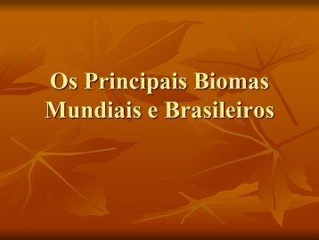 Bioma Terrestre - Anglosl.com.br